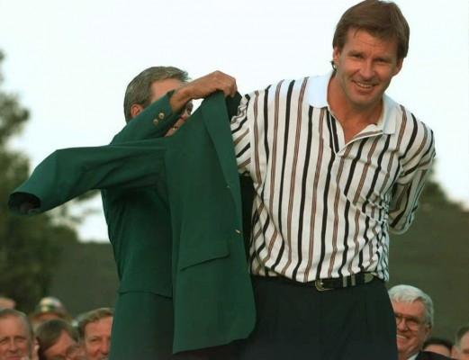 Nick Faldo; Masters 1996