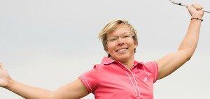 Anka Lindner zieht Motivation aus den letzten guten Ergebnissen, auch ihrer Landsleute.