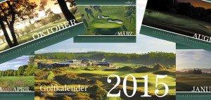 Mit dem Golfkalender 2015 für einen guten Zweck spenden