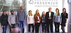 Golf Post zu Besuch bei der Hochschule Fresenius (Foto: Golf Post)