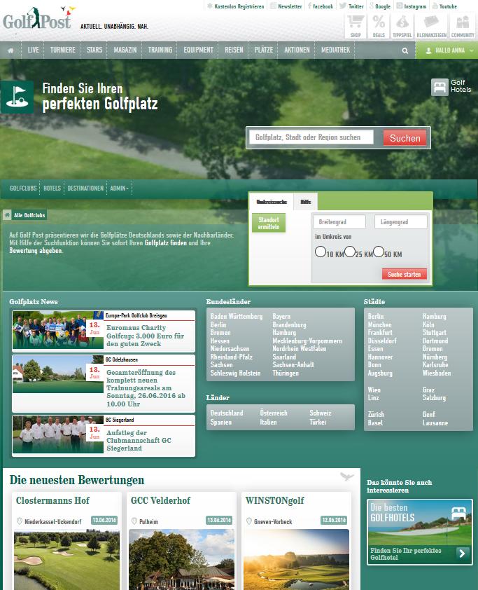 Der neue Golfplatz-Guide: Finde jetzt bei uns Deinen perfekten Golfplatz. (Foto: Golf Post)
