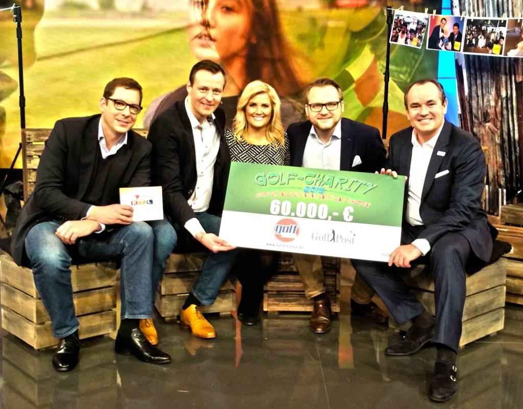 In der Live-Show bei RTL wurde letztendlich ein Scheck in Höhe von 60.000 Euro übergeben. (Foto: talk Agentur)