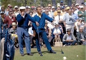 Arnold Palmer und Ben Hogan - Die Rockstars ihrer Zeit. (Foto: Michael F. Basche)