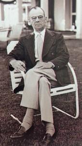 Chairman Clifford Roberts. (Foto: Michael F. Basche)