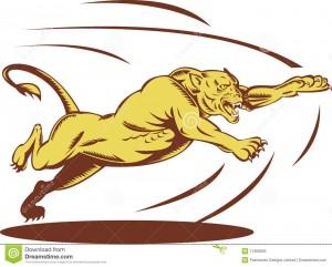 springendes-angreifen-der-löwin-11369603