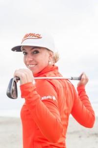 Starke Botschafterin für das Golf: Sophia Popov macht sich gemeinsam mit Allianz für ihren Sport stark. (Foto: Allianz)