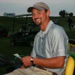 """Winstons Course Manager Jordan Tschimperle hat sein Terrain im Griff: """"Wir kennen die Erwartungen der Tour an uns."""" (Foto: WINSTONgolf/Stefan von Stengel)"""