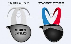 Beim TaylorMade M3 und TaylorMade M4 Driver soll die Twist-Face-Technologie für mehr getroffene Fairways sorgen. (Foto: TaylorMade)