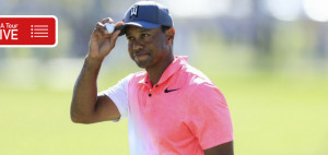 Tiger Woods live auf der PGA Tour bei der Honda Classic am Moving Day verfolgen. (Foto: Getty)