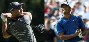 Martin Kaymer und Tiger Woods geben Vollgas am Moving Day der PGA Championship 2018. (Foto: Getty)