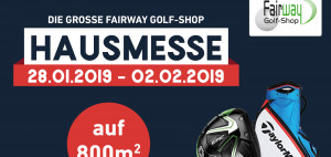 Die Fairway Golf-Shop Messe in Pulheim. (Foto: Golf Post)
