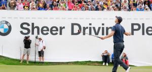 Martin Kaymer bei der BMW International Open im vergangen Jahr. Auch für 2019 hat der zweifache Majorsieger zugesagt. (Foto: BMW Golfsport)